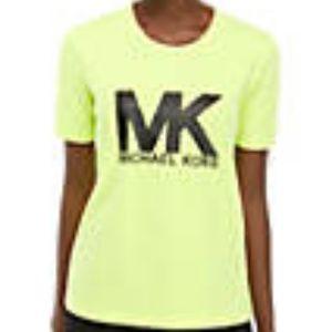 Lime Green MK Shirt